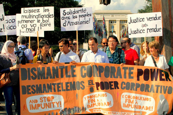 """Corporate Power in South Africa """"Podcast with Ilham Rawoot: organiser of the Permanent People's Tribunal in Swaziland""""Listen Here"""