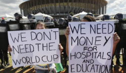 Brazil's Student Upsurge Brazil's massive student occupations are occurring against a backdrop of crumbling left parties and a vicious austerity government. Read More