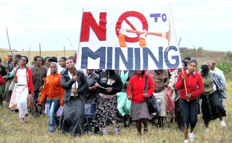 Some Xolobeni residents had been opposed to the plan. File picture: Yvette Descham
