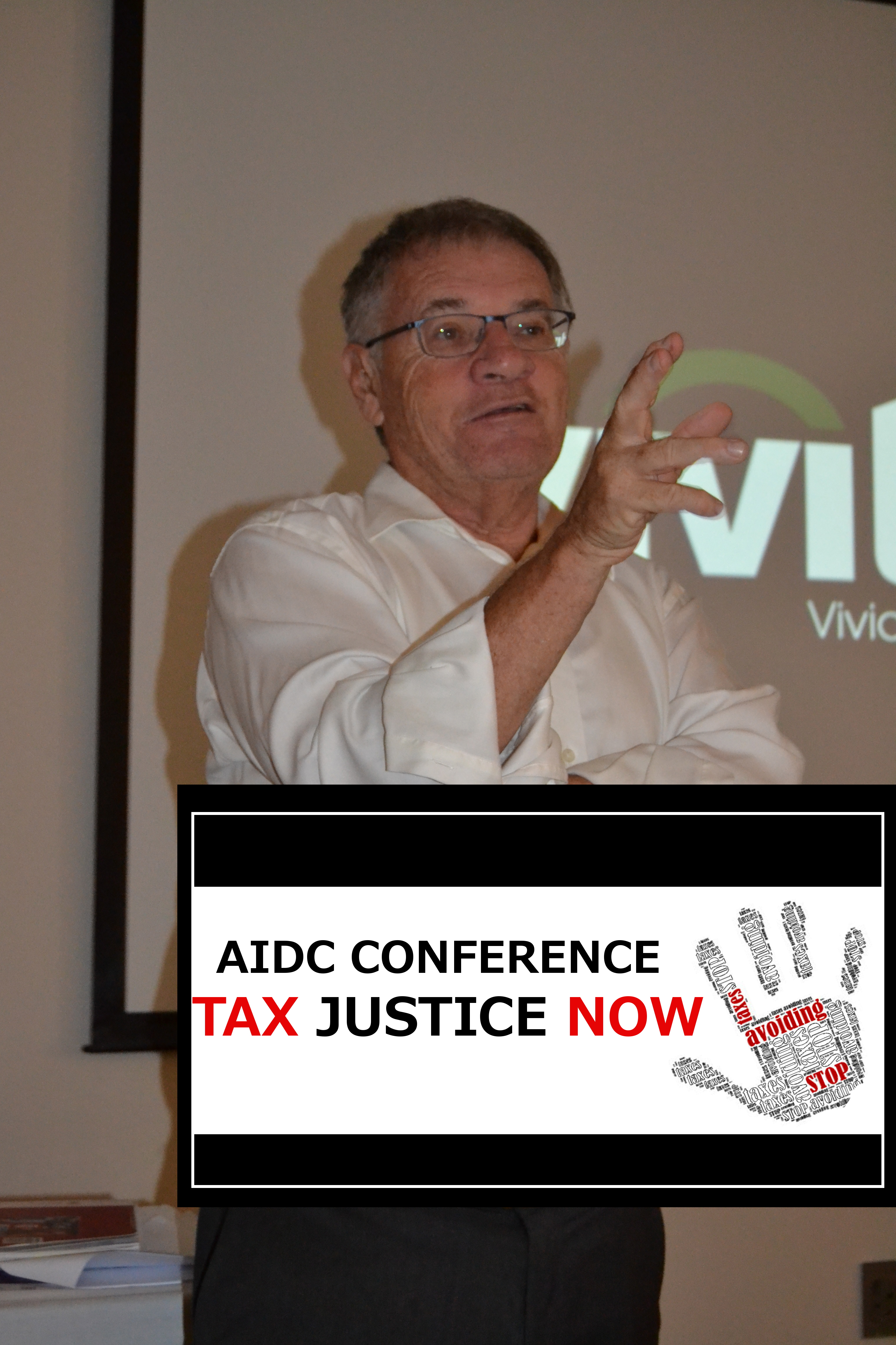 SARS attacks Judge Davis Judge Dennis Davis speaking at a conference on tax evasion and illicit financial flows organised by the Alternative Information Development Centre (AIDC)
