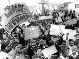 Photograph by Mike Mzileni © Baileys African History Archive