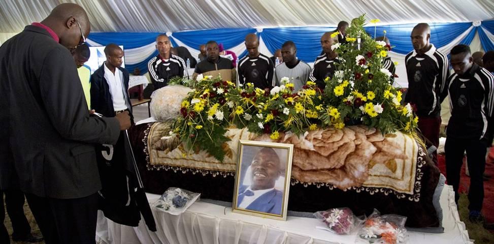 Sikhosiphi Bhazooka funeral