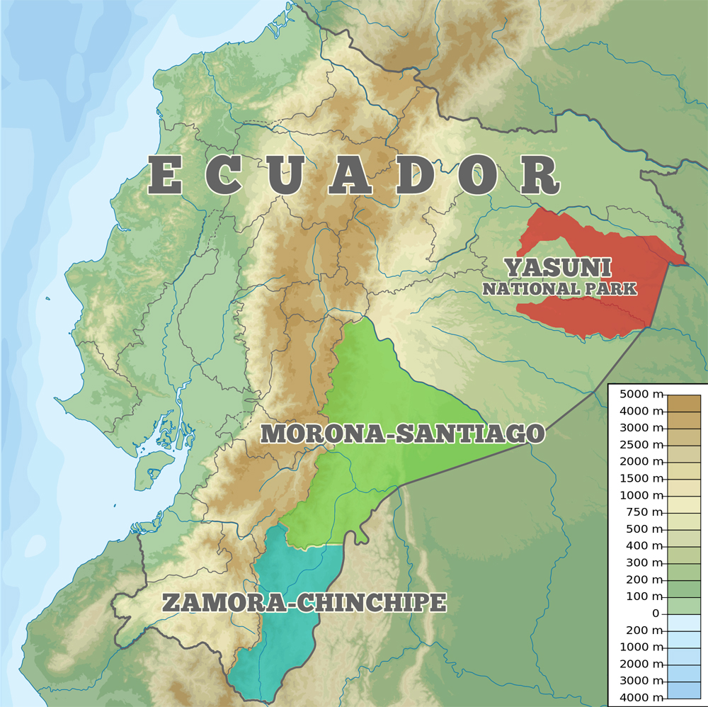 Lenin Moreno A New Chapter For Ecuador AIDC Alternative - Ecuador provinces map